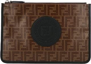 Luxury Fashion | Fendi Mens 7N0078A5K4F17PZ Brown Clutch | Fall Winter 19