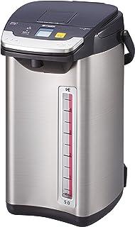 タイガー 電気ポット 5L ブラック 蒸気レス 節電 VE 保温 とく子さん PIE-A500-K