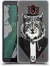 Head Case Designs Lynx Super Posh Soft Gel Case Compatible for Nokia 1 Plus