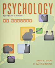 Psychology in Modules 11E & Launchpad for Myers' Psychology in Modules 11E (Six Month Access)