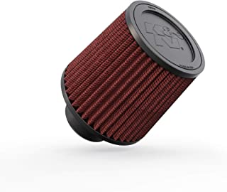 K&N Universal Clamp-On Air Filter: High Performance, Premium, Washable, Replacement Filter: Flange Diameter: 2.75 In, Filter Height: 5.5 In, Flange Length: 2 In, Shape: Round Tapered, RU-4960