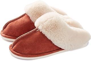 Pantofole Scamosciate da Donna Uomo Interne Casa Morbida Autunno Inverno Memoria Schiuma Pavimento Indoor Outdoor
