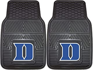 Fanmats 12097 Duke University Blue Devils Front Row Vinyl Heavy Duty Car Mat - 2 Piece