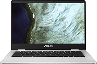 "Asus Chromebook 14"" HD NanoEdge Display, Intel Dual-Core Celeron N3350, 4GB Ram, 32GB Emmc - C423NA-RH01T-CB"