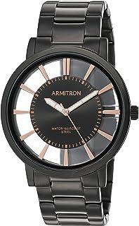 Armitron Men's Black Bracelet Watch