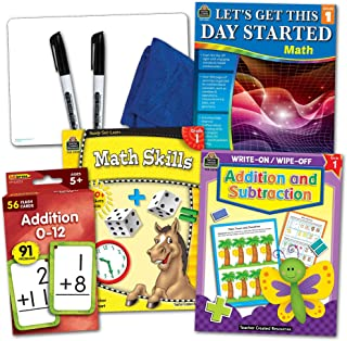 Teacher Created Resources Learning Together: Math Grade 1 Set (TCR2088501)