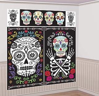 Black and Bone Scene Setter Kit Halloween Decoration