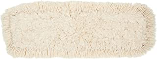 AmazonBasics Dust Mop Head Replacement, Cotton, 24 Inch, 6-Pack