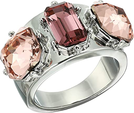 Rhodium/Blush Rose/Vintage Mauve/Black Diamond