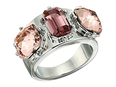 Vince Camuto Stone Ring (Rhodium/Blush Rose/Vintage Mauve/Black Diamond) Ring