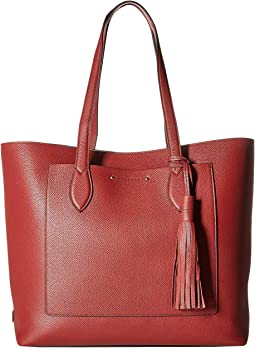 ae80129a8a95 Cole Haan. Loralie Whipstitch Mini Saddle.  125.07MSRP   220. Key Item Tote  w  Tassel
