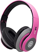 iJoy Matte Finish Premium Rechargeable Wireless Headphones Bluetooth Over Ear Headphones..