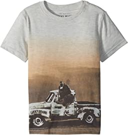 Lucky Brand Kids - Bear Truck Short Sleeve Tee (Toddler)