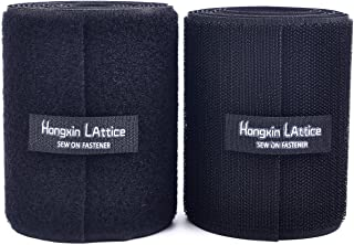 Self-Wrap Nastro a Strappo Nero 25mm x 5M Doppio Lato 100/% Nylon