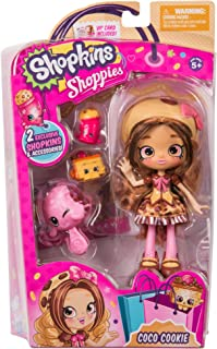 (Coco Cookie) - Shopkins Shoppies Doll Single Pack - Coco Cookie