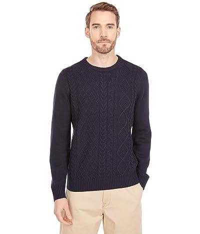Ben Sherman Fisherman Sweater (Dark Navy) Men