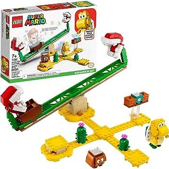 LEGO Kit de construcción Super Mario 71365 Set de Expansión: Superderrape de la Planta Piraña, Juguete Coleccionable para Regalar a niños creativos (217 Piezas)