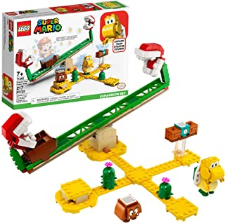 LEGO Super Mario Piranha Plant Power Slide Expansion Set 71365; Building Kit for Kids to Combine with The Super Mario Adve...