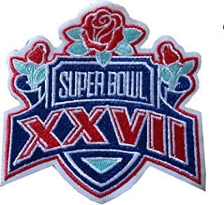 Hipatch Dallas Cowboys 1993 Super Bowl XXVII Embroidered Patch Iron on Logo Vest Jacket Cap Hoodie Backpack Patch Iron On/sew on Patch