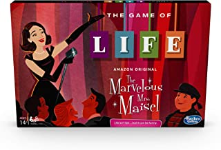 Hasbro Gaming The Game of Life: The Marvelous Mrs. Maisel Edition Board Game; Ages 14 & Up; Inspired by The Amazon Original Prime Video Series