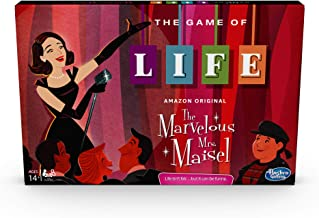 Hasbro Gaming The Game of Life: The Marvelous Mrs. Maisel Edition Board Game; Inspired by The Amazon Original Prime Video ...