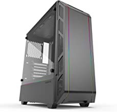 Phanteks Eclipse P350X (PH-EC350PTG_DBW) Compact EATX Mid-Tower Case, Tempered Glass, Digital RGB, Black/White