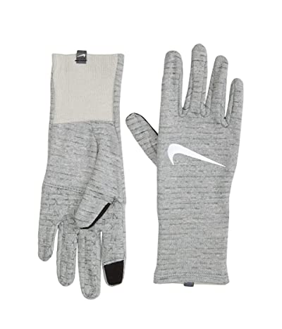 Nike Heathered Sphere Running Gloves 3.0 (Particle Grey Heather/Grey Fog/Silver) Gore-Tex Gloves