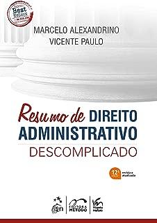 Resumo de Direito Administrativo Descomplicado (Em Portugues do Brasil)
