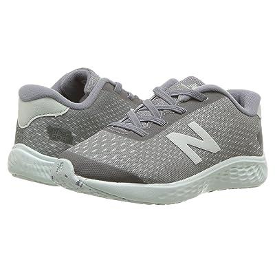 New Balance Kids KVARNv1I (Infant/Toddler) (Gunmetal/Ocean Air) Girls Shoes