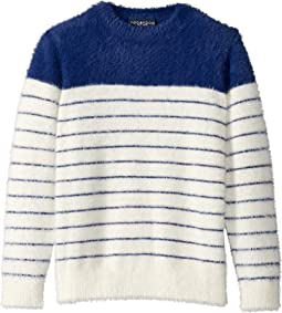 Navy/White Striped