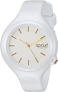 Rip Curl Women's Aurora Quartz Sport Watch with Polyurethane Strap, White, 14 (Model: A3139G-WHI)