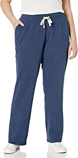 Amazon Essentials Women's Plus Size French Terry Fleece Sweatpant