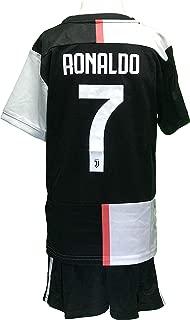 Chivalion Juventus Ronaldo Jersey 2019/2020 Season Home #7 Kids Soccer