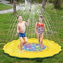 Buitensproeier speelmat splash pad zomertuin water speelgoed speelmat voor baby, kinderen, hond en huisdieren