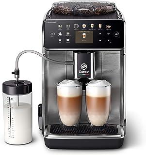 Philips Saeco Espressomachine - 16 Koffievariaties - 6 Gebruiksprofielen - Kleurendisplay - Dubbele Espresso - Latteduo me...
