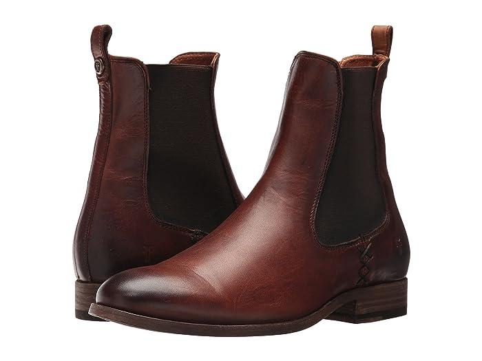 Frye  Melissa Chelsea (Cognac) Womens Pull-on Boots