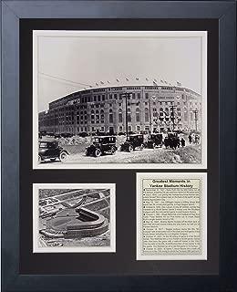 Legends Never Die 1923 Yankee Stadium Framed Photo Collage, 11x14-Inch