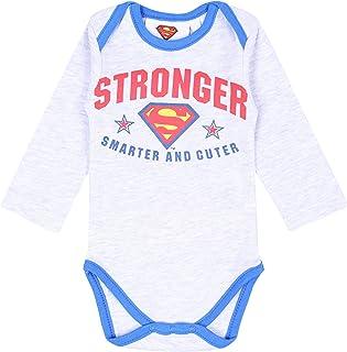 Vintage Color Tractor Baby Boy Girl Long Sleeve Baby Newborn Boy Superman Bodysuits