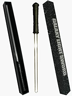 GlitZGlam Galaxy Light Sword - Three Colors in ONE! - Original Light-up Saber Sword with an Authentic Power up and Down Humming Sound
