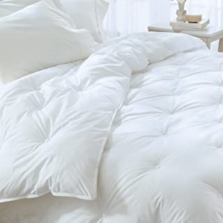Pacific Coast Feather Company 66344 Serenity Supreme Comforter/Duvet Insert, Twin, White