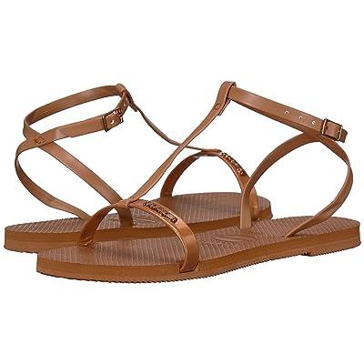 Havaianas You Belize Flip Flops (Rust) Women