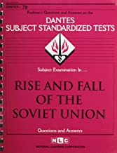 DSST Rise & Fall of the Soviet Union (Passbooks) (DANTES SUBJECT STANDARDIZED TESTS (DANTES))