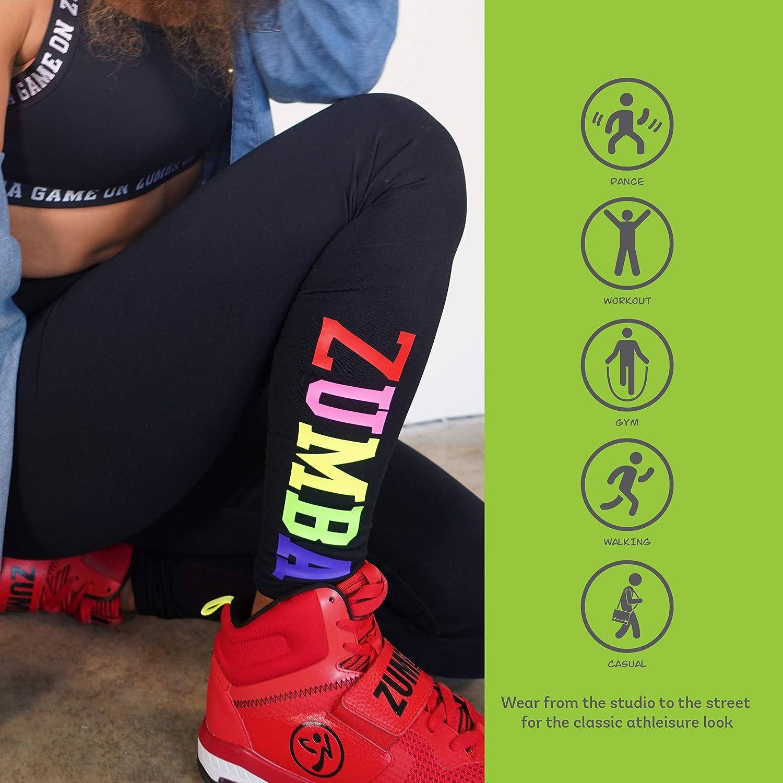 Zumba Leggings de Fitness Cintura Alta Entrenamiento Baile Compresi/ón Pantalones Mujer