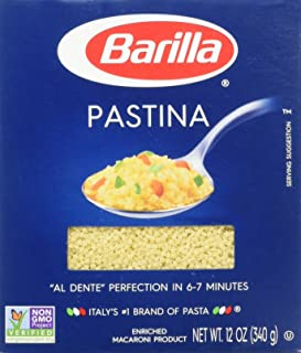 Barilla Pastina Pasta, 12 oz (Pack of 2)