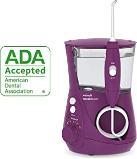 Waterpik Water Flosser Electric Dental Countertop Oral Irrigator For Teeth – Aquarius Professional, WP-665 Orchid