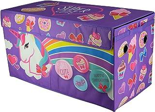 JoJo Siwa Collapsible Storage Trunk, Purple