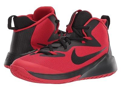 Nike Kids Future Court (Big Kid) (University Red/Black) Boys Shoes
