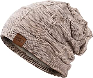 REDESS Beanie Hat for Men and Women Winter Warm Hats Knit Slouchy Thick  Skull Cap 8e14ce3d176e