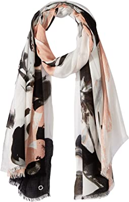 Calvin Klein - Abstract Viscose Scarf