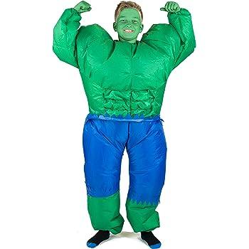 Bodysocks® Disfraz Hinchable de Hulk Niño: Amazon.es: Juguetes y ...